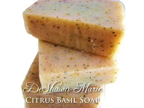 Citrus Basil Soap