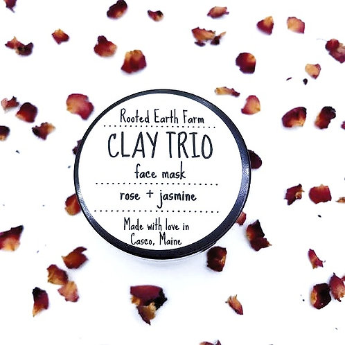 Clay Trio Ultra Detox Face Mask