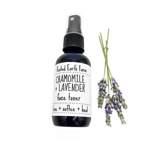 Lavender & Chamomile Face Toner 4 oz