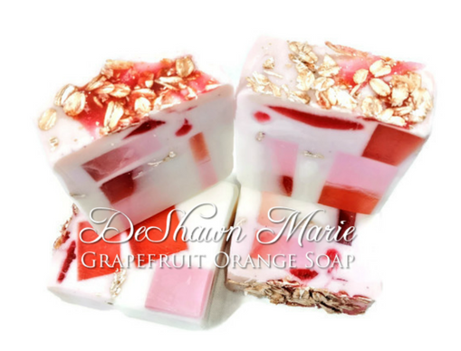 Grapefruit Orange Soap