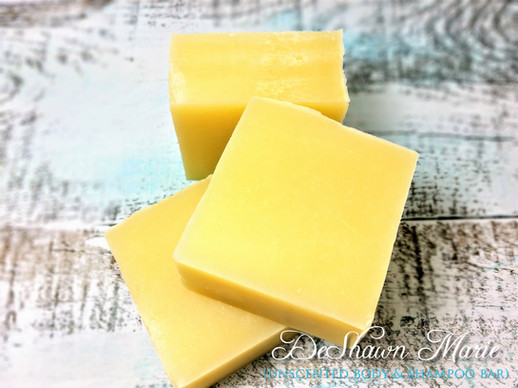 Unscented Shaving and Shampoo Bar
