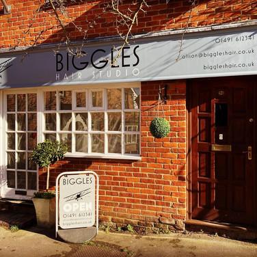 biggles hairdressers