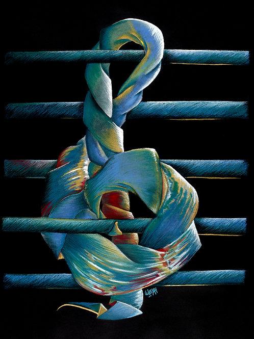 BLUE-TIFUL Affiche Beaux-Arts