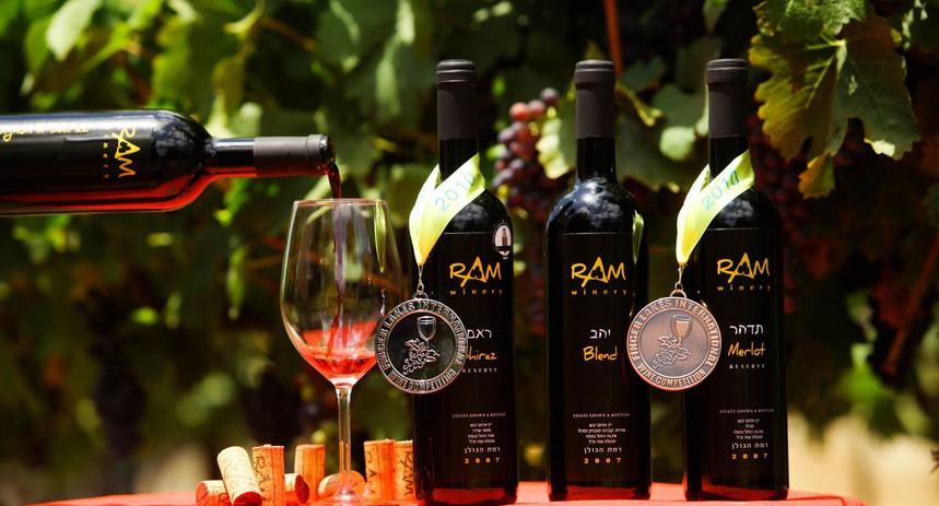 יינות היקב זוכים במדליות בתחרות Finger Lake