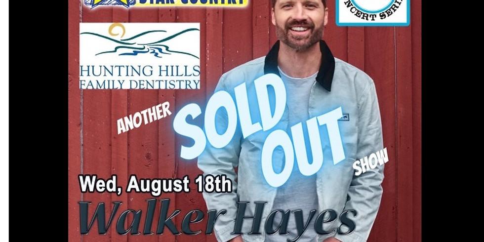 Rescheduled Date - Walker Hayes