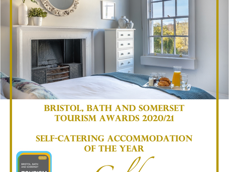 Bath tourism business named Self Catering Accommodation of the Year