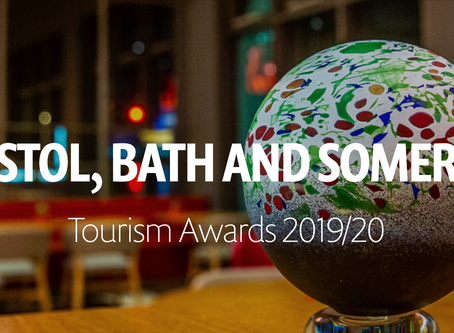 We're finalists in the Bristol, Bath & Somerset Tourism Awards 2019/20!