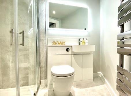 Soak it all in: Our new en-suite bathroom