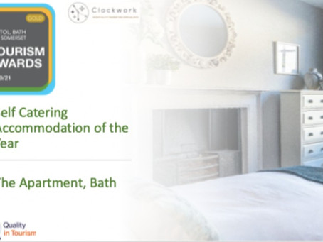 BREAKING: We've been crowned Self Catering Accommodation of the Year!