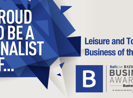 We're finalists in the Bath Business Awards 2019!