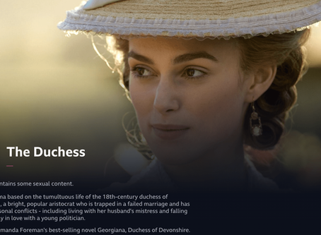 The Duchess & Bridgerton: See Bath on iPlayer now ... and Netflix soon!