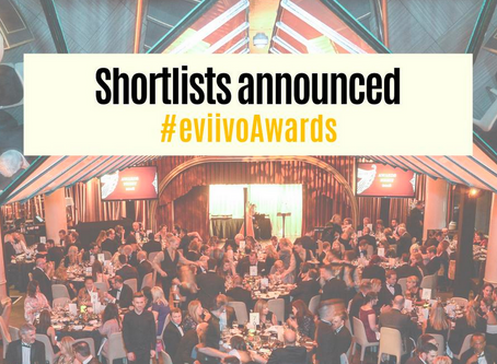 We're finalists in the eviivo Awards 2019!