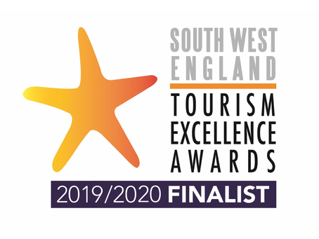 We're finalists in the South West Tourism Excellence Awards 2019/20!