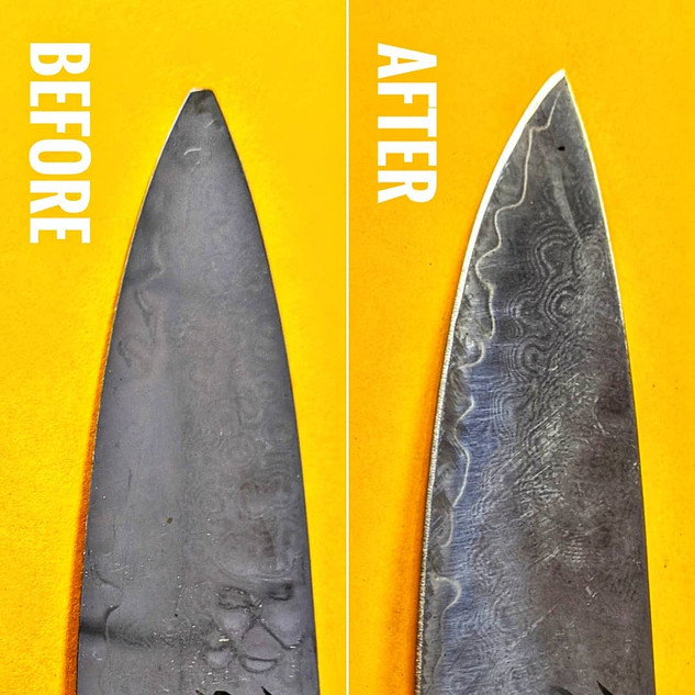 You Shun Not Bring Your Knives Anywhere Else!