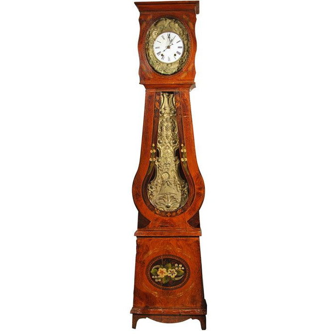 Did you know?  French Morbier clocks strike twice...
