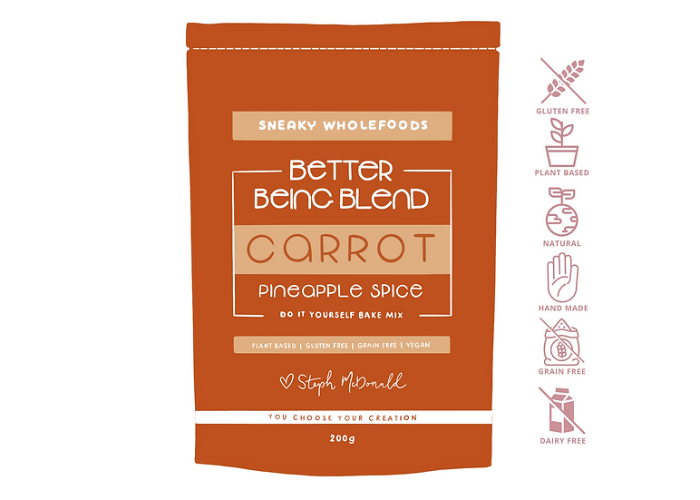 Carrot Pineapple Spice Better Being Blend 200g