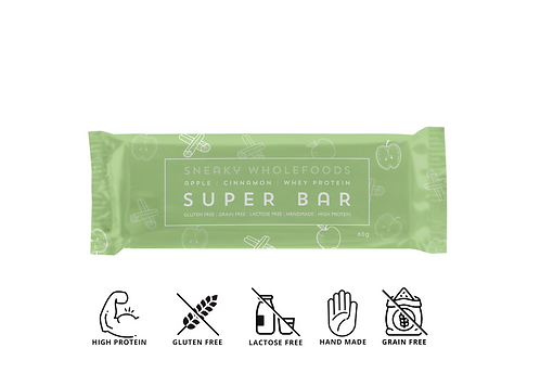 Apple Cinnamon Super Bar 60g