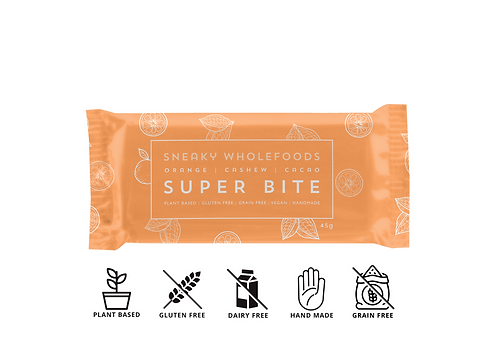 Orange Cashew Cacao Super Bite 45g