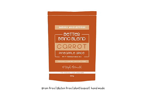Carrot Pineapple Spice Better Being Blend 200g