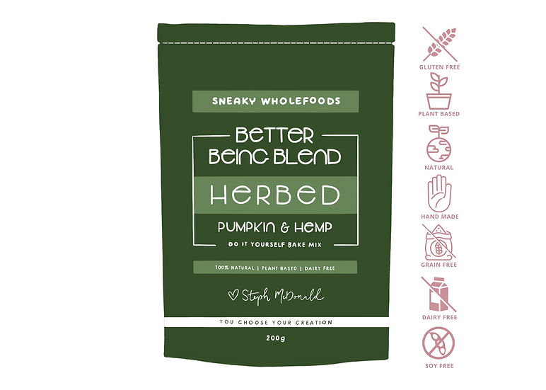 Herbed Pumpkin & Hemp Better Being Blend 200g