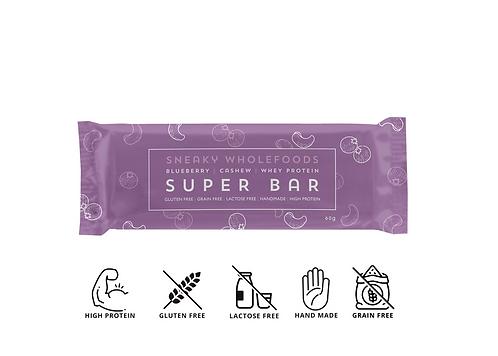 Blueberry Cashew Super Bar 60g
