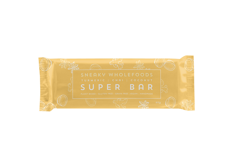 Turmeric Chai Coconut Super Bar 60g
