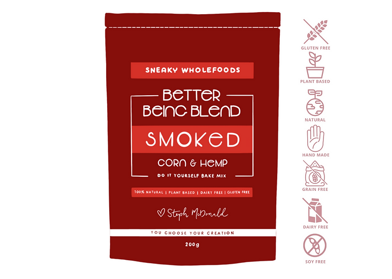 Smoked Corn & Hemp Better Being Blend 200g