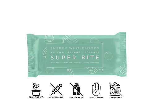 Matcha Banana Coconut Super Bite 45g