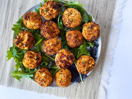 Sweet Potato Veggie Bites / Veggie Nuggets