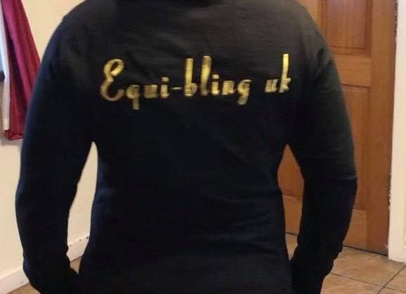 EQB Lady cut Instructor's longline hoodie