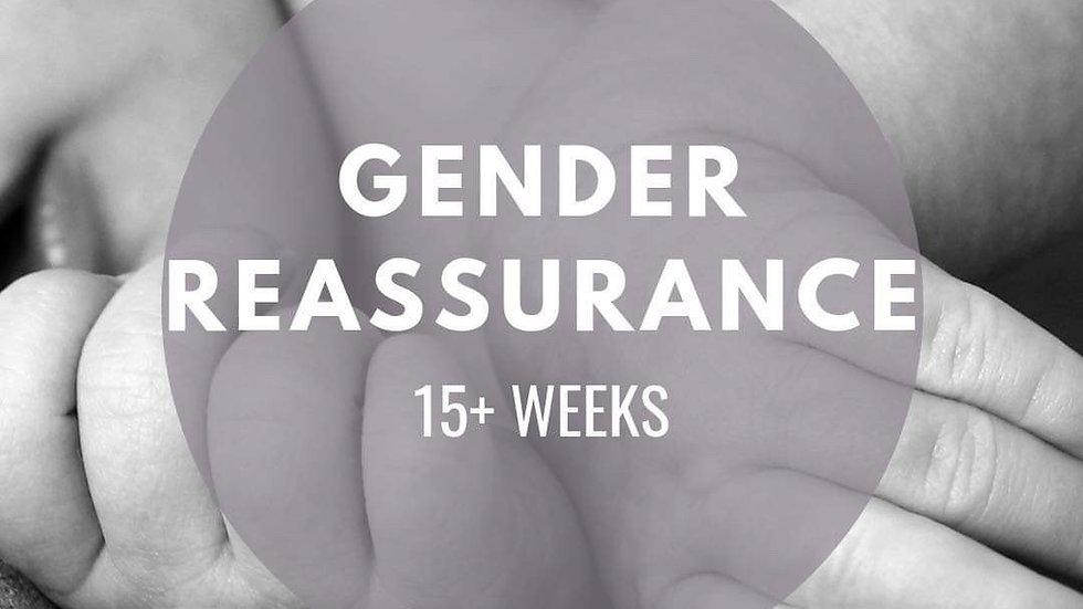 Gender Reassurance I 15-36 Weeks ONLY