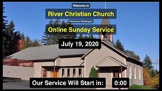 Sunday Service 07/19/2020