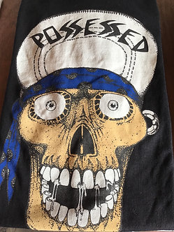Suicidal Skates Tee Punk Skull Black