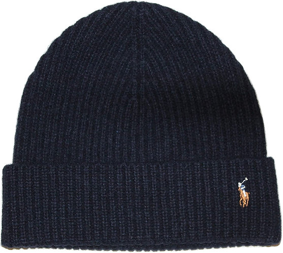 Polo RL - Men's Signature Cold Weather Cuff Hat - Navy