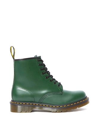 Dr. Martens 1460 Lace Up Boots - Green Smooth