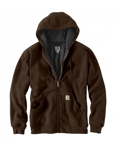 Carhartt Rutland Thermal-Lined Zip - Dark Brown