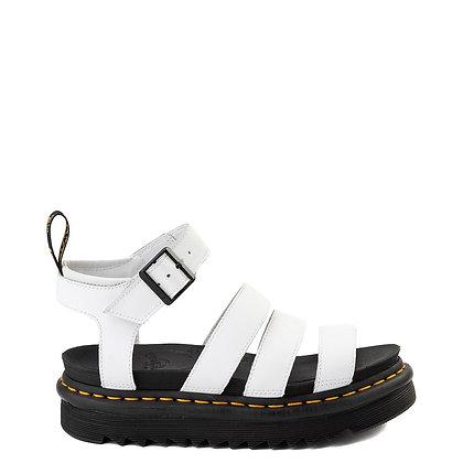 Dr. Martens Blaire Slide Sandal - White
