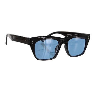 Glassy Eyewear Santos Polarized Black/Blue Lens
