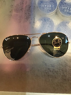 RayBan Aviator Sunglasses Gold ORB 3025 L0205 3N 58 135