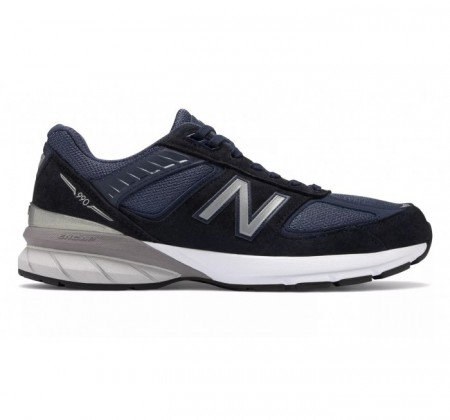 New Balance 990v5 Made in US - Navy/Silver