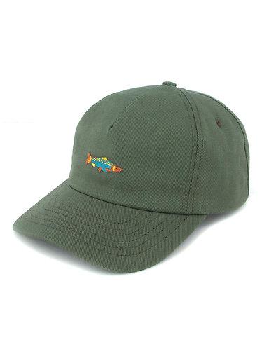 Mollusk Hot Salmon Polo Hat - Mash Green