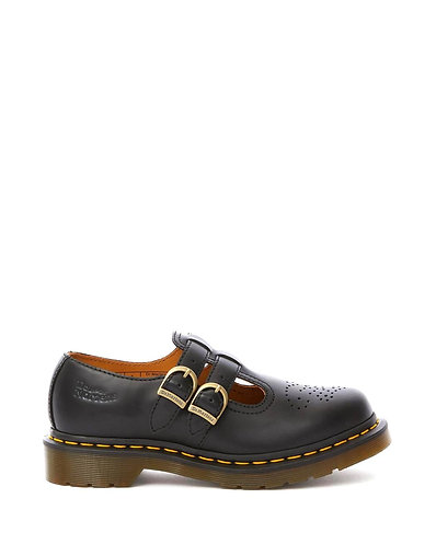 Dr. Martens 8065 Mary Jane Shoes - Black Smooth