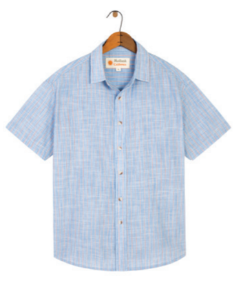 Mollusk Summer Stripe Shirt - Jack Stripe