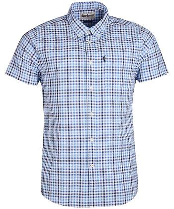 Barbour Seersucker S/S Shirt -Navy