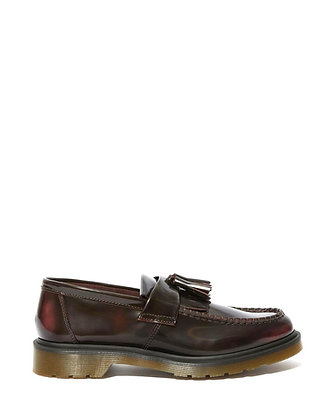 Dr. Martens Adrian Tassle Loafers - Cherry Red Arcadia