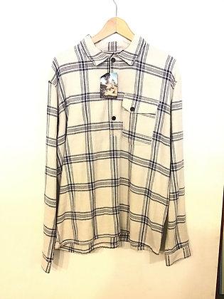 Nudie Jeans Lab Cassius L/S Shirt - Grey