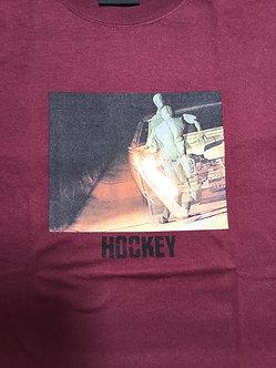 Hockey Tee Crash Test Burgundy