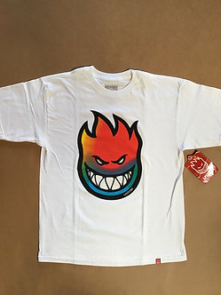 Spitfire Rainbow Big Head Tee