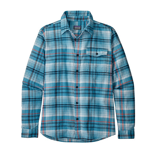 Patagonia Men's Long-Sleeved Lightweight Fjord Flannel Shirt - TUBU [54020]