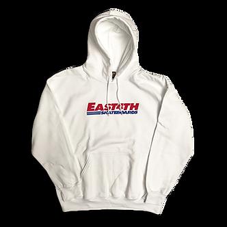 East 4th Skate Club Hoodie (White)